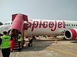Kanpur to Kolkata flight at Kanpur Airport.jpg