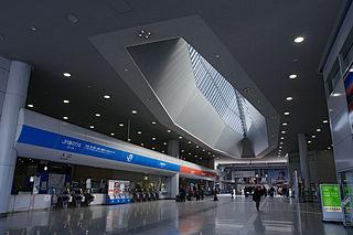 Kansai Airport Station Railway station in Tajiri, Osaka Prefecture, Japan