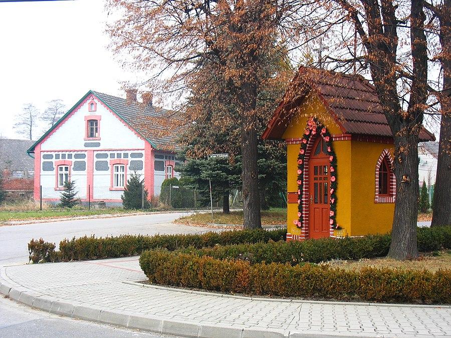Nowa Wieś, Oświęcim County