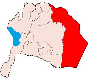 Qatraneh - Location of Qatraneh Department of the Karak Governorate