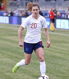 Karen Carney English international footballer and sports journalist