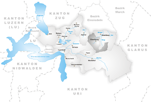 Oberiberg - Image: Karte Gemeinde Oberiberg
