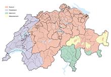 hvilket sprog taler man i schweiz