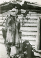 Kate Rice Prospector, Trapper, and Adventurer on Snow Shoes outside her cabin on Wekusko Lake.png