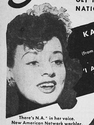 Kay Starr - Kay Starr in a 1945 advertisement
