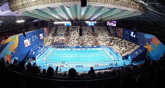 Swimming at the 2015 World Aquatics Championships - Image: Kazan 2015 Kazan Arena Panorama Sector 306