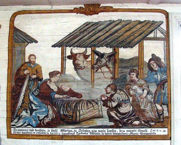 File:Kempele Church Paintings 2006 07 24 B.JPG