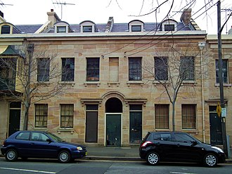 49-51 Kent Street, Millers Point - 49-51 Kent Street, pictured in 2012