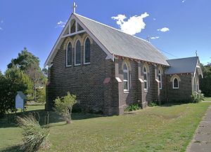 Kentucky, New South Wales - St Mark's Church, Kentucky