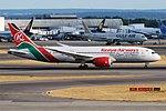 Kenya Airways, 5Y-KZD, Boeing 787-8 Dreamliner (42595667520).jpg
