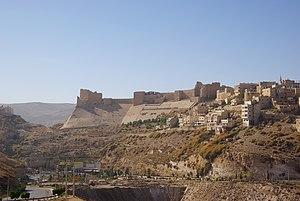 Al-Karak - Image: Kerak BW 1
