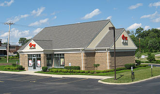 KeyBank - Key Bank branch in Springboro, Ohio