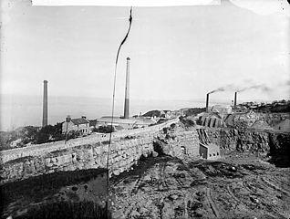 Kilns at Llanddulas (Dinb)