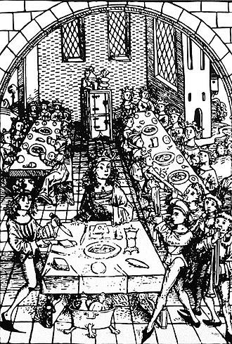 Congress of Lutsk - King meal