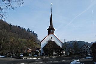 Schlossrued Municipality in Switzerland in Aargau