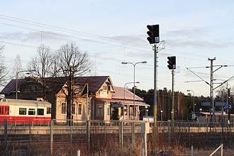 Kirkkonummi railway station - Image: Kirkkonummen asema