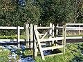 Kissing Gate on Wealdway near Farm - geograph.org.uk - 1119463.jpg
