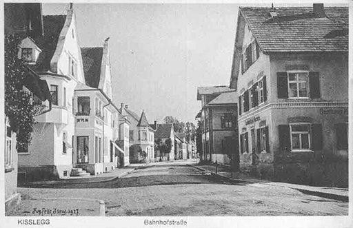 Kisslegg Bahnhofstraße 1927