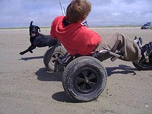 Kite buggy - Kite buggying, Claggan, Erris, Co. Mayo
