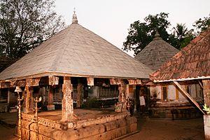 Koothattukulam - Koothattukulam Mahadeva Temple evening view