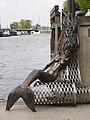 Klaipéda Skulptur Meerjungfrau.JPG