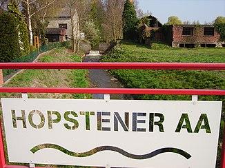 The little Hopstener Aa