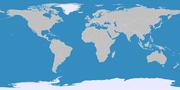 Karte der Polargebiete