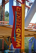 Knott's Berry Farm WindSeeker Sign