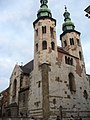 Kościół Św. Andrzeja - kościół sióstr klarysek - panoramio.jpg
