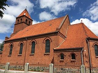 Kleszczewo Kościerskie Village in Pomeranian Voivodeship, Poland