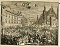 Komste van Zyne Majesteit Willem III. koning van Groot Britanje, enz. in Holland, of, Te omstandelyke beschryving van alles, - het welke op des zelfs komste en geduurende zyn verblyf, in's (14765734763).jpg