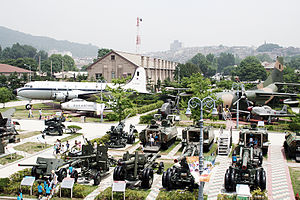 War Memorial of Korea - Outdoor exhibition area