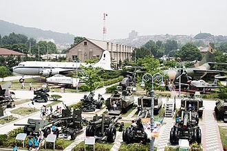 War Memorial of Korea - Outdoor exhibition area