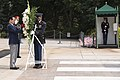 Korean Veterans Association Chairman lays a wreath at the Tomb of the Unknown Soldier at Arlington National Cemetery (21096684641).jpg