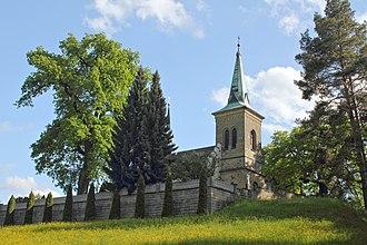 Karlovice - Church of Saint George