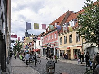 Kristianstad Place in Skåne, Sweden