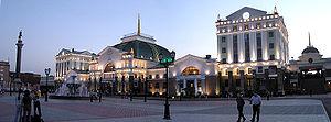 Transport in Russia - Train station in Krasnoyarsk