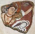 Kucha, frammenti di terra pure del buddha, da duldur-aqur, dinastia tang, 700-750 ca..JPG