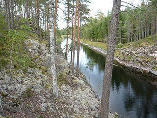 Puumala Municipality in Southern Savonia, Finland