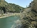 Kusugawa River from train of Kyudai Main Line.jpg