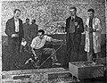 Kvassay Jenő út 1., VITUKI, mozaikkép az első hazai vízépítési kisminta-kísérletről. Fortepan 17167.jpg