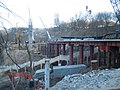 Kyiv - Bridge over stairs construction.jpg