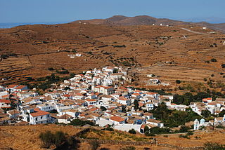 Kythnos Place in Greece