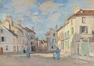 L'Ancienne rue de la Chaussée, Argenteuil