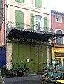 L'Isle-sur-la-Sorgue, Cafe de France, 14 Place de La Liberté.jpg