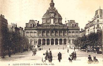 Timeline of Saint-Étienne - Image: L'hotel de ville