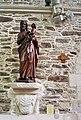 Léhon.- Abbatiale Saint-Magloire (Statue).jpg