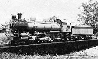 Vauclain compound - WAGR L class locomotive created by rebuilding class Ec compound