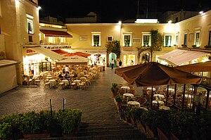 Capri, Campania - Image: LA Piazzetta