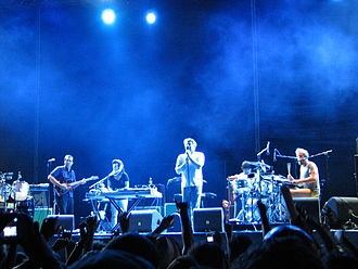 Super Bock Super Rock - LCD Soundsystem in 2007.